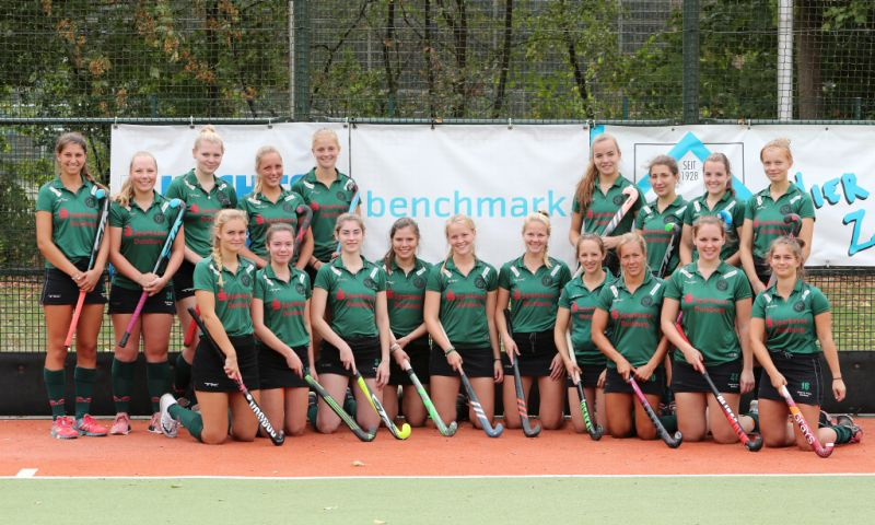 Die Hockey-Damen des Clubs Raffelberg