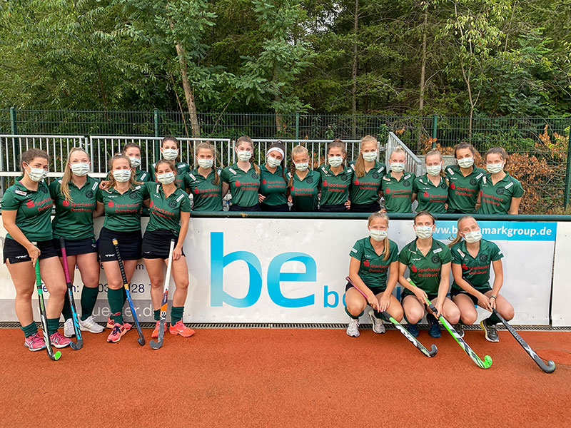 Bundesliga-Damenmannschaft des Club Raffelberg